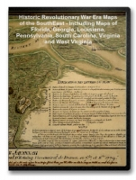 Southern States Revolutionary War Era Maps on CD