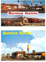 Barstow Station, California - Set of 2 Postcards