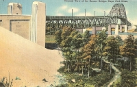 Bourne Bridge, Cape Cod, Massachusetts Postcard