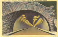 Columbia River Highway Tunnel, Oregon Postcard