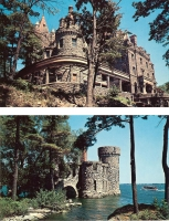 Boldt Castle, New York - Set of 2 Postcards