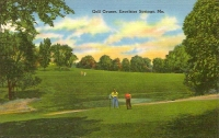 Golf Course, Excelsior Springs, Missouri Postcard