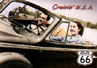 Cruisin USA Postcard
