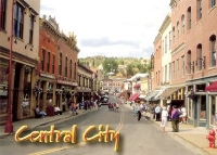 Central City, Colorado Postcard