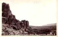 Freak Spires, Oregon Postcard