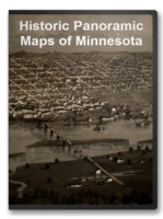 Minnesota 40 City Panoramic Maps on CD