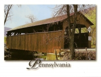 Covered Bridge, Buttonwood, Pennsylvania