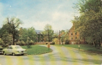 Curtis Hall, Denison University, Granville, Ohio Postcard