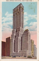 Lincoln Building, New York, New York Postcard