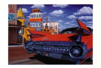 Teepees & Tailfins, Joseph City, Arizona Postcard