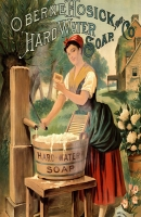 Hard Water Soap Advertising 11x17 Poster