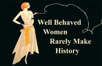 Well Behaved Women 11x17 Poster