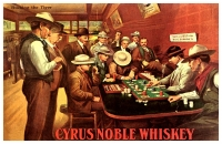 Cyrus Noble Whiskey 11x17 Poster