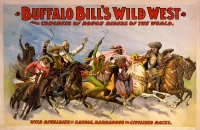 Buffalo Bill Wild West Show 11x17 Poster
