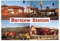 Barstow Station, Barstow, California Postcard
