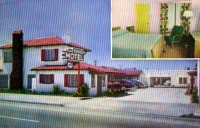 Idaho Motel, El Cerrito, California Postcard