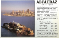 Alcatraz, California Postcard