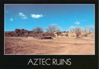 Aztec Ruins National Monument, New Mexico Postcard