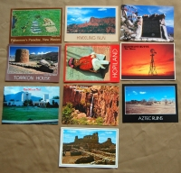 Assorted New Mexico Postcards - Set of 10