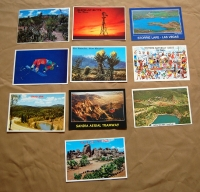 Ten (10) Assorted New Mexico Postcards