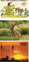 Deming, New Mexico Postcards - Set of 3