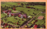 Penn Hall School, Chambersburg, Pennsylvania Postcard