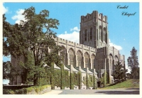 Cadet Chapel, West Point, New York Postcard