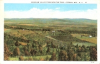 Windham Valley, Catskill Mountains, New York Postcard