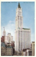 Woolworth Building City, New York City Postcard