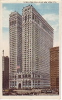 Equitable Office Building, New York City Postcard