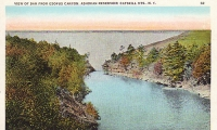 Esopus Canyon Dam, New York Postcard