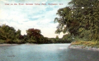 Genesee Valley Park Postcard