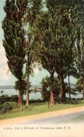 Chautaqua Lake, New York Postcard