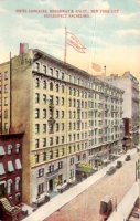 Hotel Longacre, New York City Postcard