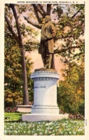 Depew Monument, Peekskill, New York Postcard