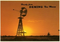 Howdy From Deming, New Mexico Postcard