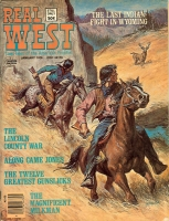 1976 - January Real West Magazine