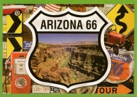 Arizona 66 Postcard