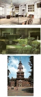 Independence Hall - Set of 3 postcards