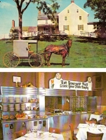Lancaster, Pennsylvania Amish - Set of 2 postcards