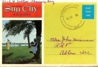 Sun City, Arizona, souvenir folder