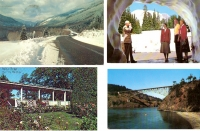 Set of 4 Washington Postcards