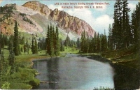 Paradise Park, Washington Postcard