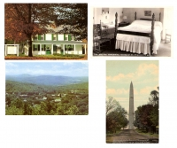Set of 4 Vermont Postcards