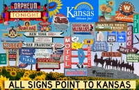 All Signs Point to Kansas Poster