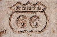 Petrified Forest Route 66 Shield 11x17 Poster