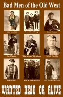 Bad Men of the Old West Mini Poster