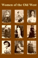 Women of the Old West Mini Poster