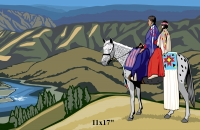 Nez Perce National Historic Trail Mini Poster
