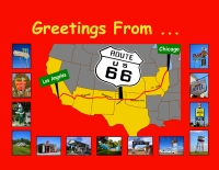 Route 66 Greetings